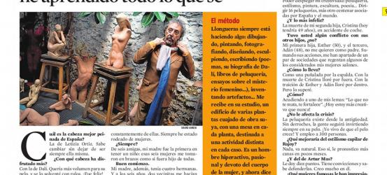 La Contra | Lluís Llongueras, peluquero y artista: 'De un millón de mujeres he aprendido todo lo que sé'