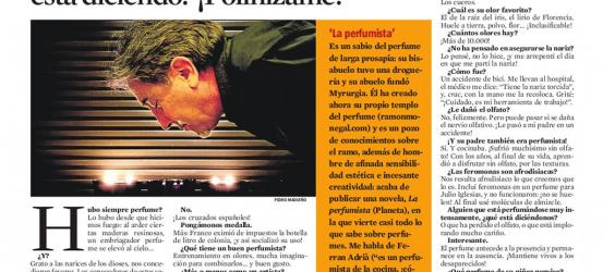 La Contra | Ramón Monegal, perfumista: 'Una mujer con una flor nos está diciendo: '¡Polinízame!''