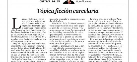 CRÍTICA DE TV | Tópica ficción carcelaria
