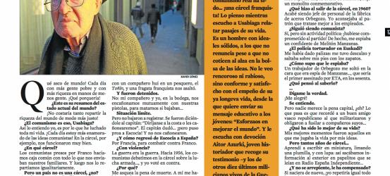 La Contra | Marcelo Usabiaga, que vivió 21 años en las cárceles de Franco: 'Ensayé durante horas la postura para ser fusilado'
