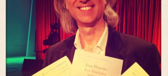Víctor Amela llegeix fragments del llibre 'Les millors obres de la literatura catalana (comentades pels censors)'