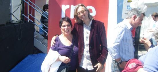 Crónica de Juani de 2011: fotos con Juan Ramón Lucas y Víctor Amela