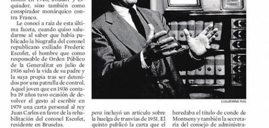 José Luis Milà Sagnier (1918-2012): '¡La vida me ha dado tanto que no puedo pedirle más!'