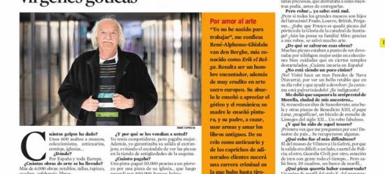 La Contra | Erik el Belga, el mayor ladrón del siglo XX: 'He dormido con muchas vírgenes góticas'