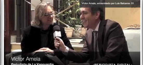 Periodista Digital entrevista a Víctor Amela | 'Jugar a la contra en el periodismo es no pensar todo el tiempo en los intereses del entrevistado'