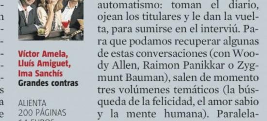 Culturas de La Vanguardia | La contra, empezar por atrás