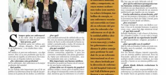 La Contra | Doris Grinspun: 'Un país con buenas enfermeras será más feliz'