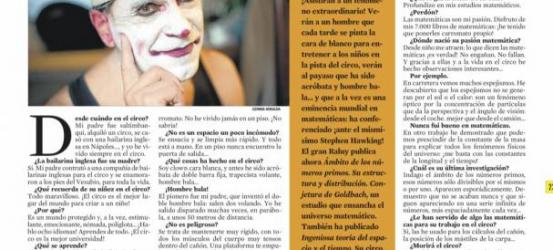 La Contra | Lluís Raluy: 'Vivo en un carromato, no entiendo la vida sedentaria'