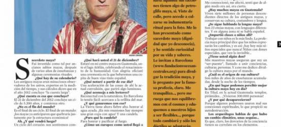 La Contra | Omrael Norbert: 'En el 2012 comenzará un ciclo de armonía de 5.200 años'