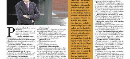 La Contra | Vicente Garrido: 'El asesino en serie realiza una fantasía de poder'