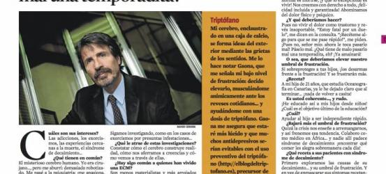 La Contra | José Miguel Gaona, psiquiatra: '¿Qué tiene de malo pasarlo mal una temporadita?'