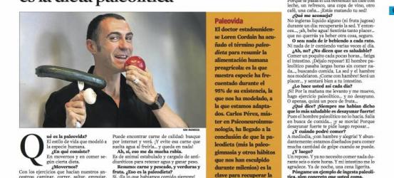 La Contra | Carlos Pérez, terapeuta y psiconeuroinmunólogo: 'La dieta más saludable es la dieta paleolítica'