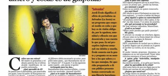 La Contra | Jordi Évole: '¡Cambiad el chip! Acumular dinero y cosas es de gilipollas'