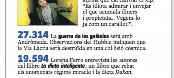 El més llegit de La Vanguardia | La Contra de Víctor M. Amela a Jordi Évole