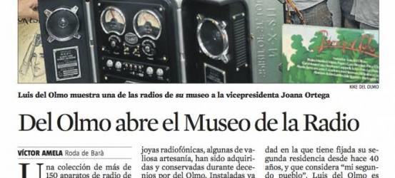 Del Olmo abre el Museo de la Radio en Roda de Barà