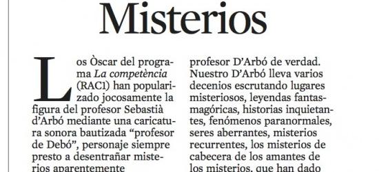 Crítica de TV 17-6-2012 | Misterios