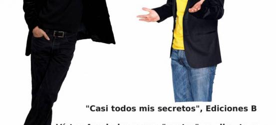 + sobre la presentación de 'Casi todos mis secretos' con Jordi Évole y la Contra en directo