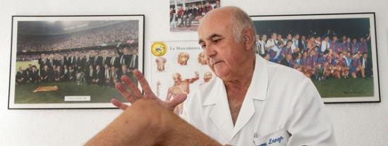 La Contra | Jaume Langa: 'Sólo un buen masaje puede curar bien una lesión'