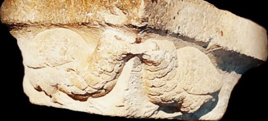 El cátaro imperfecto | Día -5 para #cataroimperfecto: esta piedra tallada -hallada emparedada en una casa de Forcall- ha encontrado su lugar en la historia, 700 años después...