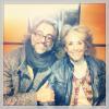 Amb l'esplèndida Montserrat Carulla (83 anys, ningú ho diria!), a @elmonarac1, dilluns 28 de gener 2013