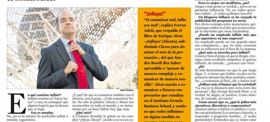 La Contra | Enrique Alcat, experto en comunicación: 'Es preferible influir a mandar'