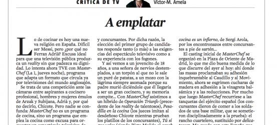 Critica TV 12 de abril 2013 |
