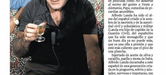 Obituario | Alfredo Landa: