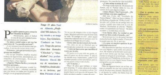 La Contra, 1998 | Constantino Romero: