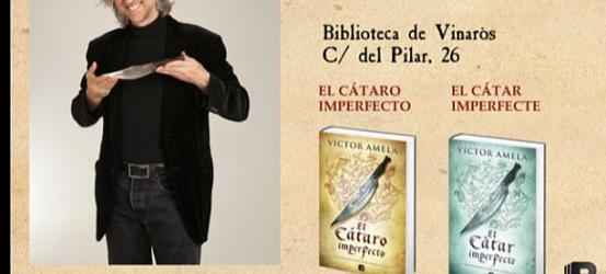 En Vinaròs, viernes 31 mayo, con Luis Racionero y #cataroimperfecto