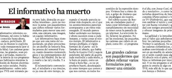 La Vanguardia | Intenacional: