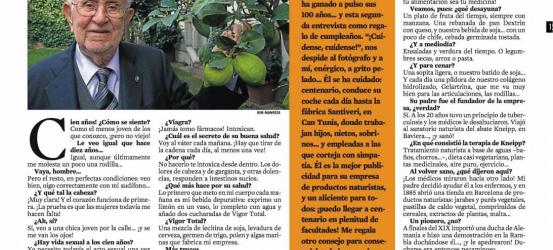 LA CONTRA | Santiago Santiveri: