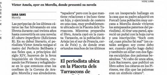 La Vanguardia | Amela entre herejes