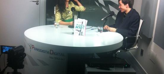 La gran Roser Amills se suelta el pelo en Periodista Digital @periodistadigit ... #megustaelsexo