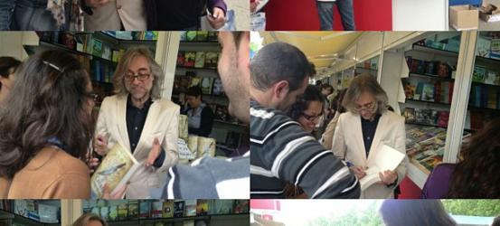 Feliz encuentro con lectores en #flm13!!!