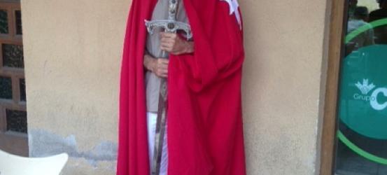 Jugando a hospitalario de Sant Mateu en su II Fira Medieval #catarimperfecte