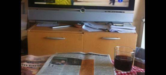 Perra vida de crítico TV, momento Telediario...