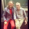 Con mi colega Martí Farrero @martifarrero @catinformacio ¡ En el 2014 hace 30 años que salimos de la Facu UAB !