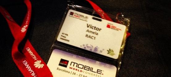 Acreditat pel #mobileworldcongress Demà a les 11h amb @davidbroc i @jordibaste a @elmonarac1 ;))