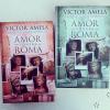 Faltan 6 días: la novela !!!! 2 de abril en librerías. Ediciones B me entrega los dos primeros ejemplares, en catalán i en castellano) #amorcontraroma