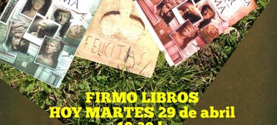 FIRMO LIBROS HOY 19:30 h @Jaimesllibreria C/ València 318