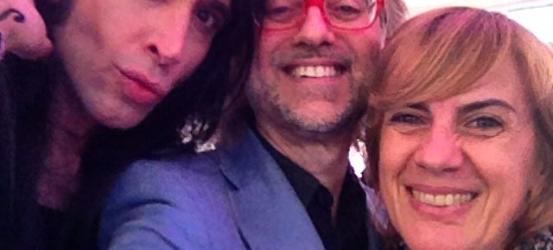 Qué buen arranque de Sant Jordi en @HoyPorHoy con Gemma Nierga y Mario Vaquerizo !!!