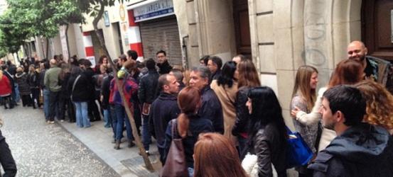 Cacho cola en @TeatreNeuBCN para Andrés Torres, ahora !!!