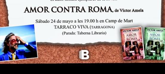 TARRACO, aquest dissabte, #amorcontraroma