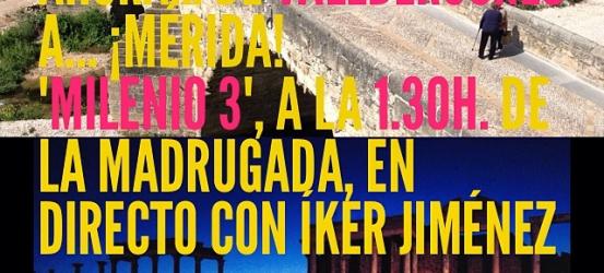 Esta madrugada en #Milenio3 @navedelmisterio @La_Ser #amorcontraroma ¡Escucha!