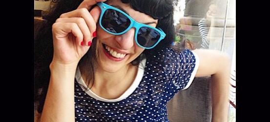 Gafas nuevas azul Tarot de la nueva y bella @roseramills