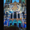 Chartres la nuit, la catedral