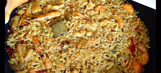 Disco de arroz de Phaistos para domingo de julio by @roseramills