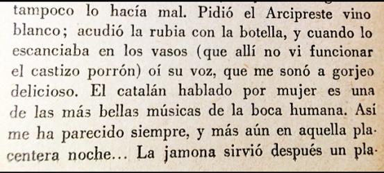 Don Benito Pérez Galdós se pone verraco con la catalana lengua