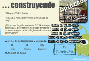Post image for Apertura del Blog de Victor Amela