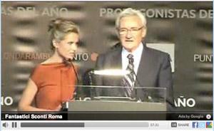 Luis Del Olmo y Victor Amela en el Premio Planeta 2010